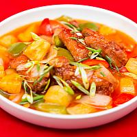 Sweet and Sour Pork Spare Ribs (Hong Kong Style) #0013