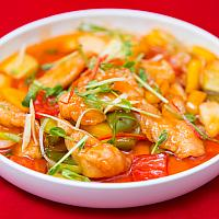 Sweet and Sour Chicken (Hong Kong Style) #0012