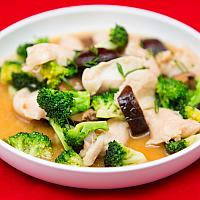 Chicken with Broccoli and Oyster Sauce #0022