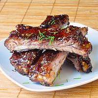 86 Sticky Honey-Ginger Pork Spare Ribs