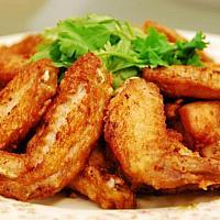 Куриные крылья жареные 500 грамм