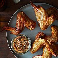 Chicken whole wing 6 pieces (soy garlic)
