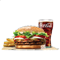 DOUBLE WHOPPER VALUE MEAL (BEEF)