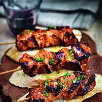 Gambas / Chorizo Skewers