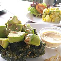 Crispy Spinach Avocado