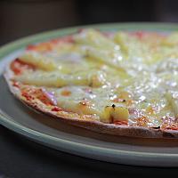 Pizza Ham pineapple
