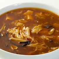 9. Hot and sour soup (Szechuan style)