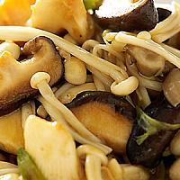 105 Stir fried mixed mushrooms