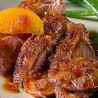 120 Half Roasted Duck In Orange Sauce