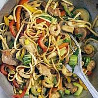 126 Singapore Style Stir Fried Noodles
