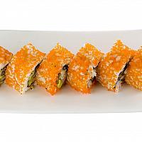 Double Crispy Soft Shell Crab & Kani Maki (4 pcs)