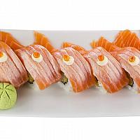 Ebi Salmon Roll (4 pcs)