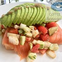 Avocado Salmon Radish