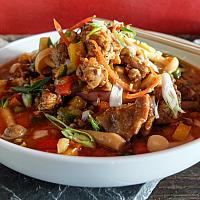 63 Szechuan Peppercorn & Chili with Lamb