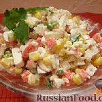 Салат крабовый 500 грамм