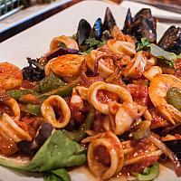 Spaghetti Marinara Seafoods