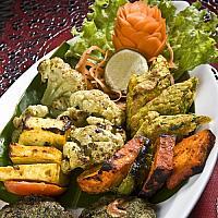 Vegetable Tandoori Platter