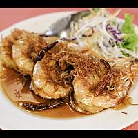 Deep Fried King Prawn with Tamarind Sauce