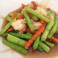Fried Shirmp with Asparagus
