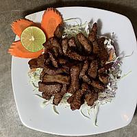 Deep Fried Sun Dried Beef