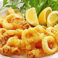 Crispy deep fried Calamari & Shrimp (Seafood)