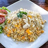 CRAB MEAT FRIED RICE   Big Side