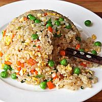 Fried rice vegetable