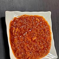 Matbucha salad