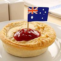 Aussie Curry Chicken Pie