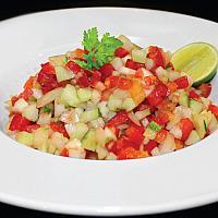 Large Israeli salad