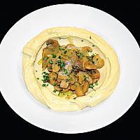 Hummus with Mushroom