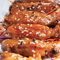 Soy Glazed Chicken Wings