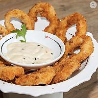 Calamari tempura ring