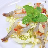Fresh Raw Prawns with Thai Chillies