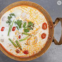 Tom kha Kai coconut soup