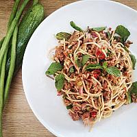 New!! Spaghetti Larb tuna