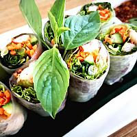 New!! Fresh spring roll with vegetables
