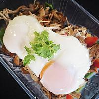 Pulled Pork with Eggs
