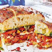 Focaccia Brie & Smoked Bacon