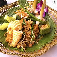 Special Pad Thai Squid
