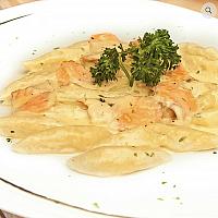 Gnocchi Smoked salmon and cream
