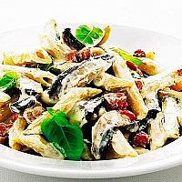 Alla Boscaiola ** (Creamy Mushroom Pasta)