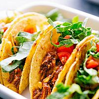 Hard Or Soft Shell Tacos 3 Pcs (CHICKEN)