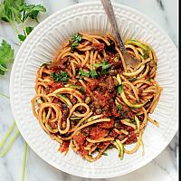 Spaghetti in Tomato and Basil sauce