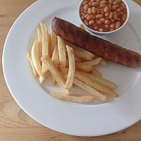 Sausages, Beans & Chips