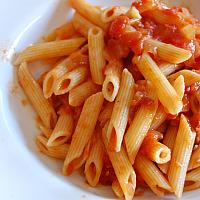 Spaghetti or Pasta with tomato Sauce