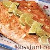 Филе семги (Salmon)на гриле
