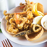 "Crispy Seafood ""Fritto Misto"""
