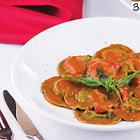 Ravioli ricotta & spinach