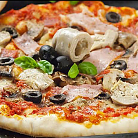 22.Capricciosa pizza